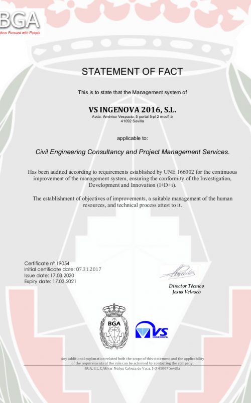 certificado vsingenova 19054 idi